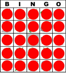 Comprehensive image within bingo chips printable